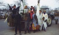 Grupa zapustna z Wichrowic, 1987 r., fot. J. Sieraczkiewicz