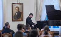 Koncert w Ośrodku Chopinowskim w Szafarni z okazji urodzin Fryderyka Chopina, Fot. Mikołaj Kuras dla UMWKP
