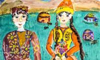 Angela Cyplenkova, lat 13, Kazachstan, fot. Galeria i Ośrodek Plastycznej Twórczości Dziecka w Toruniu