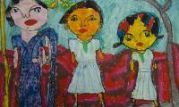 Thihara Sandehi Randadheera, lat 6, Sri Lanka, fot. Galeria i Ośrodek Plastycznej Twórczości Dziecka w Toruniu