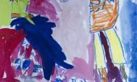 Wronika Sadowska, lat 6, Łódź, fot. Galeria i Ośrodek Plastycznej Twórczości Dziecka w Toruniu
