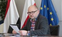 Marszałek Piotr Całbecki ogłasza uruchomienie finansowania rozbudowy opery i filharmonii, fot. Mikołaj Kuras dla UMWKP
