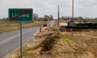 Remont DW 548 Stolno-Wąbrzeźno, fot. Mikołaj Kuras dla UMWKP