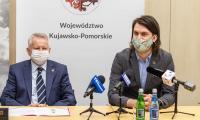 Podpisanie listy intencyjnego w sprawie organizacji zawodów o puchar Gordona Bennetta w Toruniu, fot. Szymon Zdziebło/tarantoga.pl dla UMWKP
