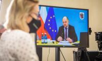 Forum samorządowe poświęcone programowi regionalnemu 2021-2027, fot. Szymon Zdziebło/tarantoga.pl dla UMWKP