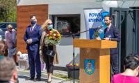 Otwarcie placówki opiekuńczo-wychowawczej w Rypinie, fot. Szymon Zdziebło/tarantoga.pl dla UMWKP