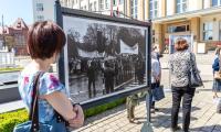 Otwarcie wystawy poświęconej Solidarności rolniczej, fot. Szymon Zdziebło tarantoga.pl dla UMWKP