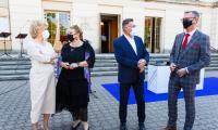 Podpisanie umowy z wykonawcą dokumentacji projektowej rozbudowy Filharmonii Pomorskiej, fot. Filip Kowalkowski dla UMWKP