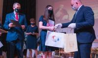 Gala wręczenia nagród w konkursie wiedzy o wielkich Polakach, fot. Mikołaj Kuras dla UMWKP