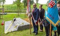 Uroczystość odsłonięcia instalacji, fot. Szymon Zdziebło/tarantoga.pl dla UMWKP.