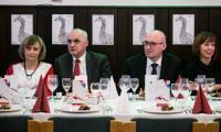 Doroczna uroczysta kolacja wydawana przez marszałka Piotra Całbeckiego oraz przewodniczącego sejmiku Ryszarda Bobera na cześć osób zasłużonych dla niepodległościowych tradycji Ojczyzny, fot. Andrzej Goiński