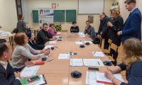 10.01.2018, Spotkanie informacyjne dla przedstawicieli organizacji pozarządowych z powiatu chełmińskiego, fot. Łukasz Piecyk