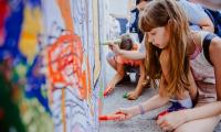 """02.06.2018, Mobilny Mural """"PIĘKNO"""" fot. Łukasz Piecyk"""