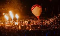 02.06.2018, Nocny pokaz balonów fot. Łukasz Piecyk