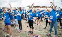 """""""Walkathon NEUCA dla Zdrowia!"""" - impreza promująca ruch i zdrowy styl życia, fot. Andrzej Goiński"""