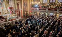 Uroczysta msza święta w toruńskim kościele garnizonowym, fot. Łukasz Piecyk