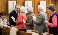 Spotkanie z seniorami w Urzędzie Marszałkowskim, fot. Andrzej Goiński