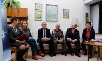 Konferencja prasowa w siedzibie gen. Elżbiety Zawackiej, fot. Mikołaj Kuras