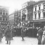 Powitanie wojsk polskich w Bydgoszczy, 20 I 1920 r. NAC