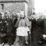 Prezydent Włocławka Witold Mystkowski wraz z marszałkiem Edwardem Rydzem-Śmiygłym w trakcie jego wizyty we Włocławku (fot. ze zbiorów muzeum ziemi kujawskiej i dobrzyńskiej we Włocławku)