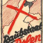 Okładka niemieckiej książki propagandowej Polska państwo grabieżca z 1939 r.