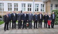 Delegacja gruzińskiego regionu Imereti, 12 listopada 2014r. , fot. Tymoteusz Tymiński
