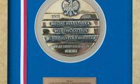 Medal Marszałka Województwa Kujawsko-Pomorskiego dla Heleny Adamczyk