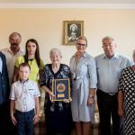 Członek zarządu Aneta Jędrzejewska z wizytą w domu Zofii Ciarkowskiej fot. Łukasz Piecyk