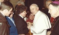 Spotkanie z Janem Pawłem II
