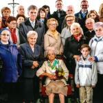 Zdjęcie rodzinne z setnych urodziny Jadwigi Łosiakowskiej, fot. archiwum prywatne