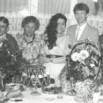 Helena Mariańska (druga od lewej) z rodziną, fot. archiwum prywatne