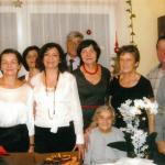 Kazimiera Piotrowicz z rodziną, fot. archiwum prywatne