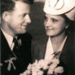 Zdjęcie ślubne Jana Sobolewskiego z żoną Heleną, 1947 rok. Fot. Archiwum prywatne