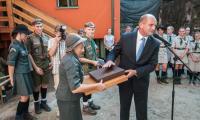 Uroczyste otwarcie harcówki ZHR w Bydgoszczy, fot. Tymon Markowski