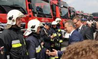 Uroczyste otwarcie nowej siedziby Komendy Powiatowej Państwowej Straży Pożarnej w Żninie, fot. KW PSP w Toruniu