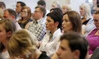 Spotkanie edukacyjne dla przedstawicieli samorządów zainteresowanych tematyką działań rewitalizacyjnych, fot. Mikołaj Kuras