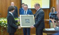 Uroczysta sesja sejmiku województwa, fot. Szymon Zdziebło/Tarantoga.pl