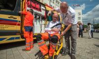 Nowe ambulansy dla toruńskiego pogotowia ratunkowego, fot. Szymon Zdziebło/tarantoga.pl