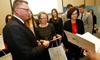Uroczyste wręczenie nagród w marszałkowskich konkursach edukacyjnych, fot. Mikołaj Kuras