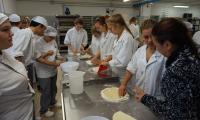 Polsko - włoska wymiana uczniowska Zespół Szkół Ekonomicznych - Liceo Scientifico Statale - warsztaty kulinarne